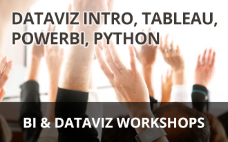 BI & Dataviz workshops